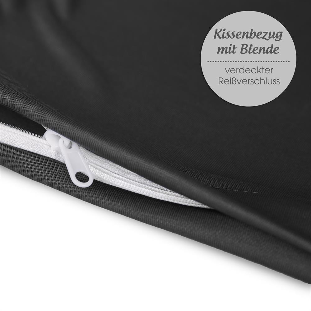 Kissenbezug Seitenschläferkissen Stillkissen Microfaser 40x145 Oeko-Tex BeBasic